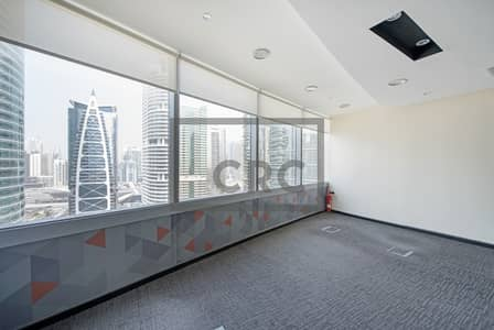 Office for Rent in Jumeirah Lake Towers (JLT), Dubai - Fitted|Bright|Well Maintained Office Unit