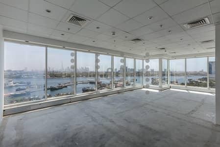 مکتب  للايجار في ديرة، دبي - Classy Chiller Free Fitted office on Maktoum Road