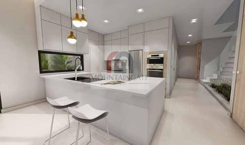3 Bedroom Townhouse for Sale in Jumeirah Golf Estate, Dubai - Luxury Living 3BR+Maids TH-Flower V2 |Golf Estates