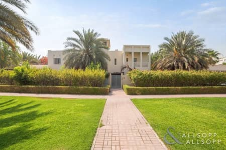 فیلا 6 غرف نوم للايجار في تلال الإمارات، دبي - Huge plot | Vacant | Luxury villa | 6BR