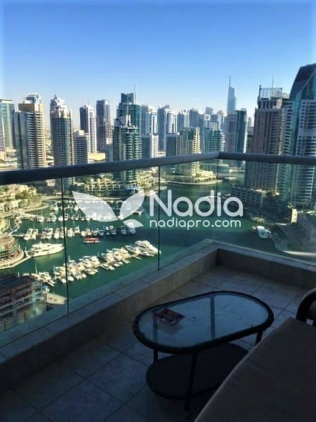 3BR + Maid | Marina View | Emirates Crown | Dubai Marina