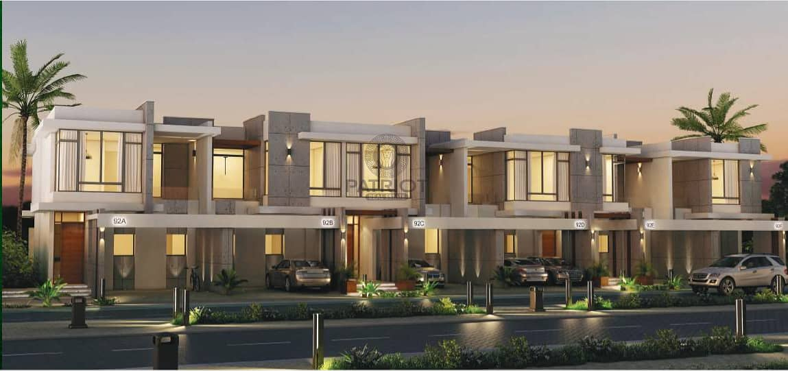2  3 Bed Villa with 3 year Payment Plan