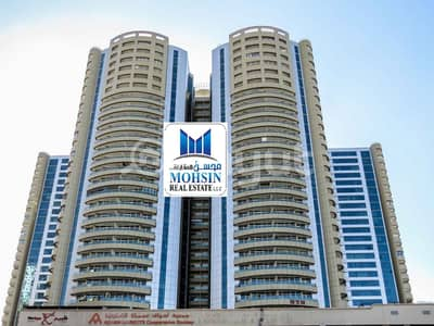 3 Bedroom Flat for Sale in Ajman Downtown, Ajman - Drop Price ,3BHK Available For Sale in Horizon Towers Full Sea View With Parking