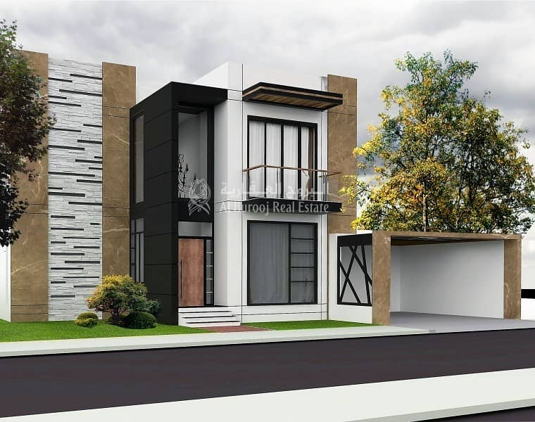 Exclusive G+1 Villa Plot with Ready Design at Al Furjan