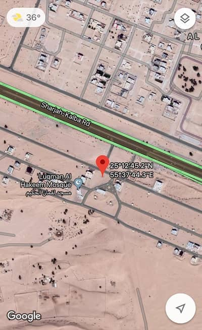 Plot for Sale in Al Tai, Sharjah - Residential Land for sale in Sharjah only 800. 000 AED