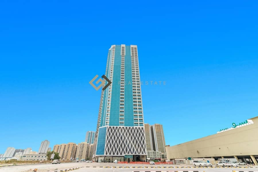2 Two-Bedroom  Apartment in Downtown Ajman Oasis Tower 2