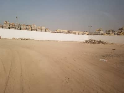 Industrial Land for Rent in Industrial Area, Sharjah - Open Yard Including Covered Office Area &  Labour Accommodation For Rent in Industrial 4