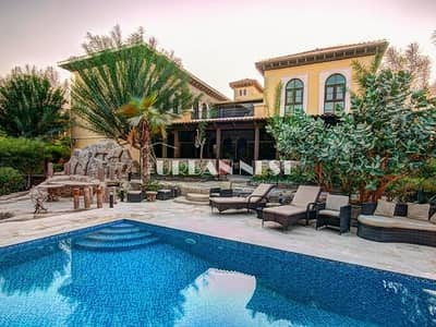 6 Bedroom Villa for Rent in The Villa, Dubai - Exclusive and Spacious Mallorca with Pool