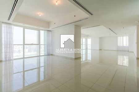 4 Bedroom Penthouse for Rent in Al Reem Island, Abu Dhabi - Spacious Penthouse Available For Rent