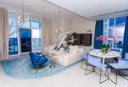 2 Bedroom Apartment for Rent in Dubai Marina, Dubai - Media City View | High Floor | Spacious 2 Bed