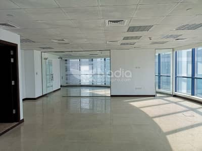 Office for Rent in Jumeirah Lake Towers (JLT), Dubai - Fitted Office with Glass Partitions | X3 | JLT |For Rent