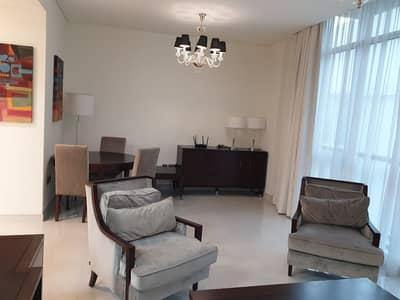 1 Bedroom Flat for Rent in Meydan City, Dubai - living room
