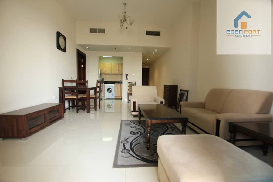 Well maintained fully furnished one bedroom  flat for Sale