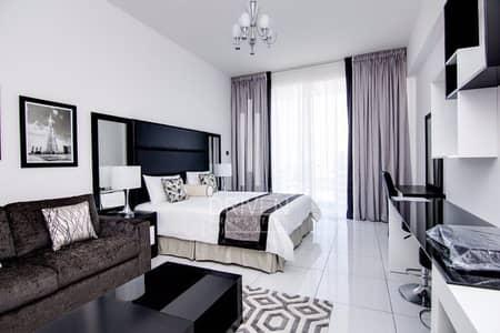 استوديو  للايجار في مدينة دبي الرياضية، دبي - Fully Furnished Studio Apartment | Golf View