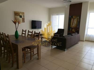 فلیٹ 1 غرفة نوم للايجار في جي بي ار، دبي -  furnished 1 BHK for rent in Shams 1 in Dubai Marina