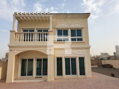 فیلا 2 غرفة نوم للايجار في قرية جميرا الدائرية، دبي - Huge Plot Corner Villa 2BR+M District 16