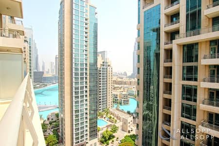 1 Bedroom Apartment for Sale in Downtown Dubai, Dubai - 1 Bed | Study | Huge Terrace | Lake View