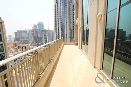 1 Bed | Study | Huge Terrace | Lake View