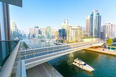 فلیٹ 2 غرفة نوم للايجار في دبي مارينا، دبي - Sparkling 2BR + maid's | Brand new| Chiller Free