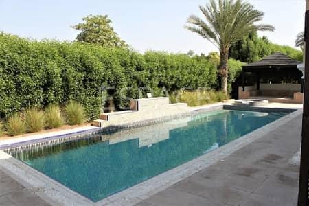 فیلا 5 غرفة نوم للايجار في جرين كوميونيتي، دبي - Huge Layout | Beautiful Pool | Vacant