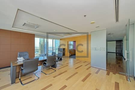 Office for Sale in Jumeirah Lake Towers (JLT), Dubai - Tenanted ROI| High Floor | Next to Metro