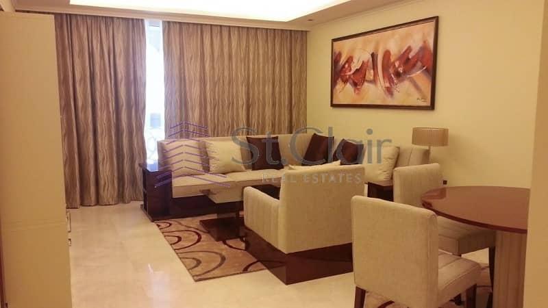 2 BR Furnished |TAJ Grandeur Residences| Sea Views