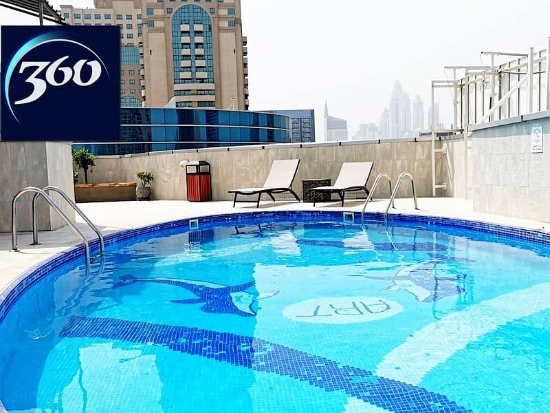 HOT!   1BR   55K   12 Chq   No chiller   Furnished   Free Month