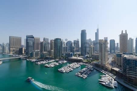 شقة 3 غرفة نوم للبيع في دبي مارينا، دبي - Full Marina View 3 bedroom
