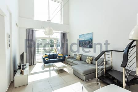 2 Bedroom Apartment for Rent in Jumeirah Heights, Dubai - Exclusive|Unfurnished Loft|Large Open Kitchen