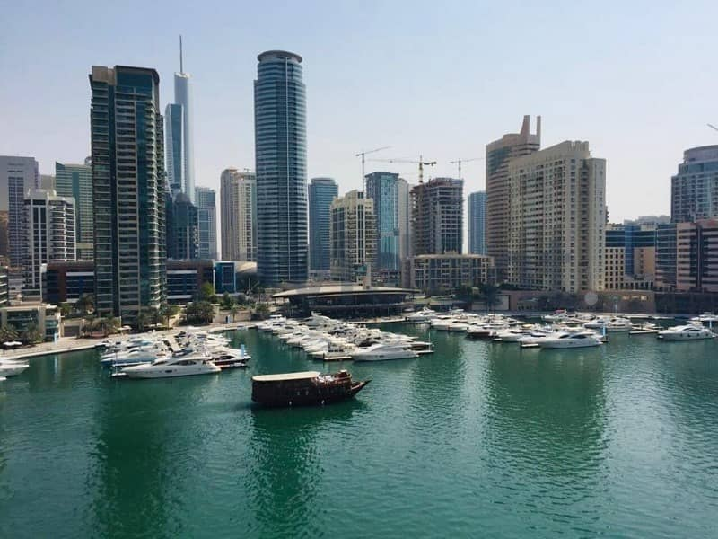 Stunning Full Marina view 3BR apartment