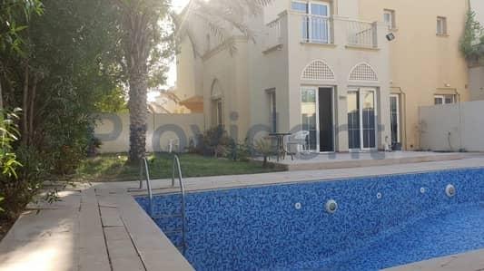 فیلا 3 غرفة نوم للبيع في الينابيع، دبي - Huge Plot | Partial Lake View | Private Pool