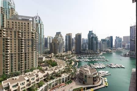 شقة 1 غرفة نوم للبيع في دبي مارينا، دبي - A Bright and Spacious Unit | Marina View