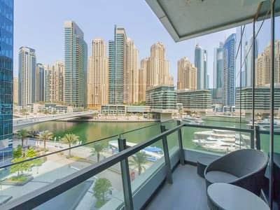 1 Bedroom Flat for Sale in Dubai Marina, Dubai - Exclusive | Furnished | Full Marina View | Motivated Seller