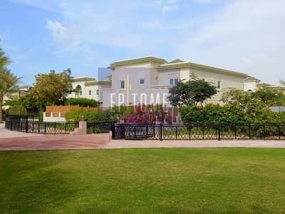فیلا 5 غرفة نوم للايجار في الفرجان، دبي - Private | Quiet | Backing Big Park | Vastu | Pool