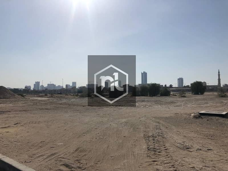 1 Wide and Huge Residential Plot For Sale in Majan|G+14