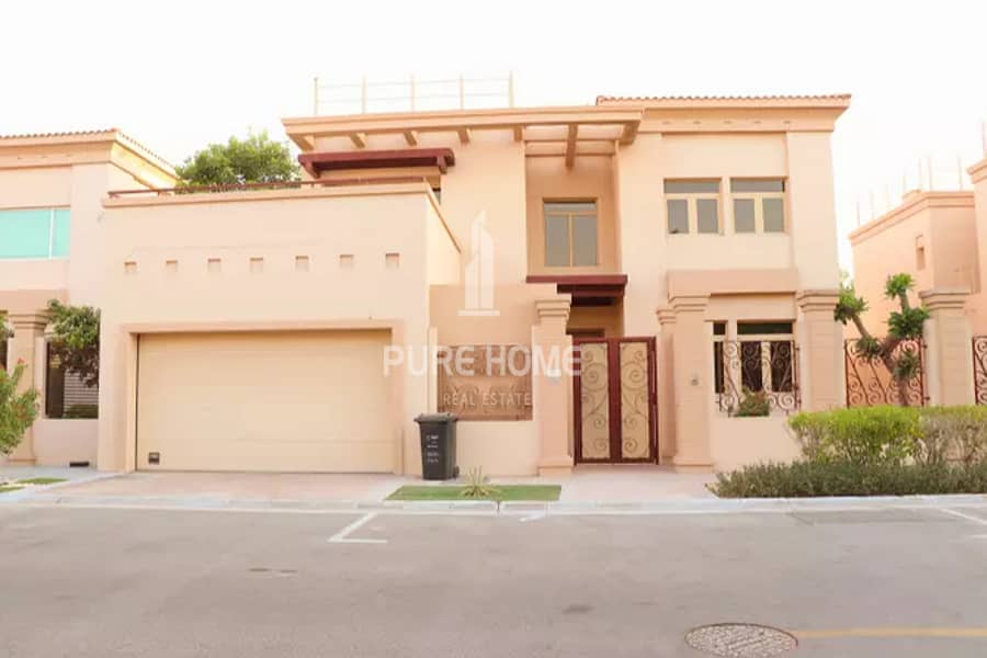 2 Move in Now Spacious and Beautiful 5 Bedrooms Villa with Maid Room Call us Now