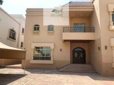 فیلا 10 غرفة نوم للايجار في بين الجسرين، أبوظبي - 10 master bedrooms villa 2 kitchen maids room  driver room security room for rent