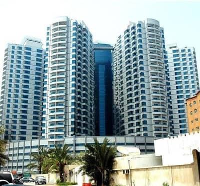 مکتب  للبيع في عجمان وسط المدينة، عجمان - العقارات التجارية للبيع ، مطلة على البحر برج فالكون