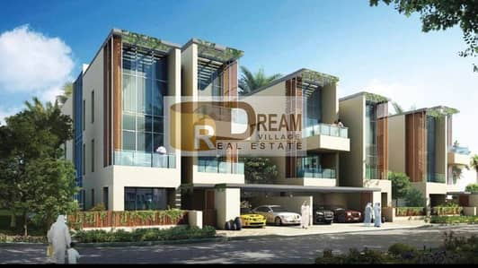 4 Bedroom Villa for Sale in Meydan City, Dubai - In the center of Medan luxury villas 6 -Bd  ready to move and installments up to 20 years