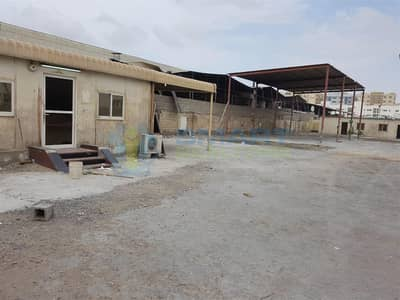 Warehouse for Sale in Industrial Area, Sharjah - Warehouse With Open Yard And Office In Industrial Area
