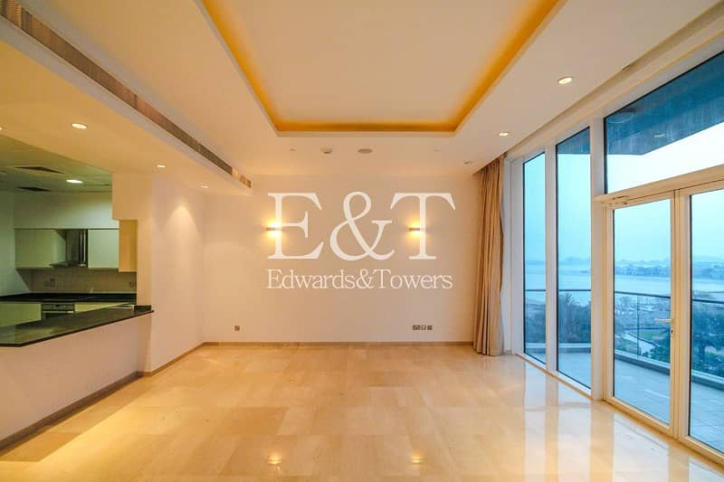 2 Sea And Dubai Eye View | Vacant | Mid Floor | PJ