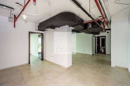Office for Rent in Jumeirah Lake Towers (JLT), Dubai - Fitted Office | Low floor | Parking