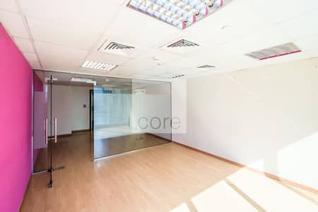 Office for Rent in Jumeirah Lake Towers (JLT), Dubai - Spacious | Fitted Office | Low Floor