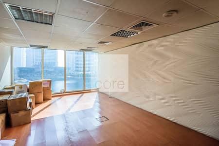 مکتب  للايجار في أبراج بحيرات جميرا، دبي - Low floor | Fitted Office | Prime Location