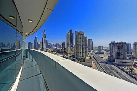 شقة 2 غرفة نوم للايجار في وسط مدينة دبي، دبي - High Floor | Fully Furnished | Available