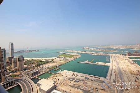 فلیٹ 3 غرفة نوم للايجار في دبي مارينا، دبي - Fully Managed   3 Bed + Maids   Sea View