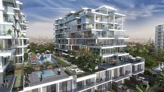 1 Bedroom Flat for Sale in DAMAC Hills (Akoya by DAMAC), Dubai - Ready to Move in Golf Facing Homes - Beverly Hills lifestyle