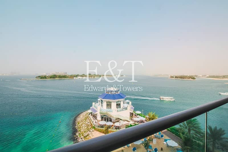 2 Mid Floor | Burj Al Arab View |Low Service Ch.| PJ