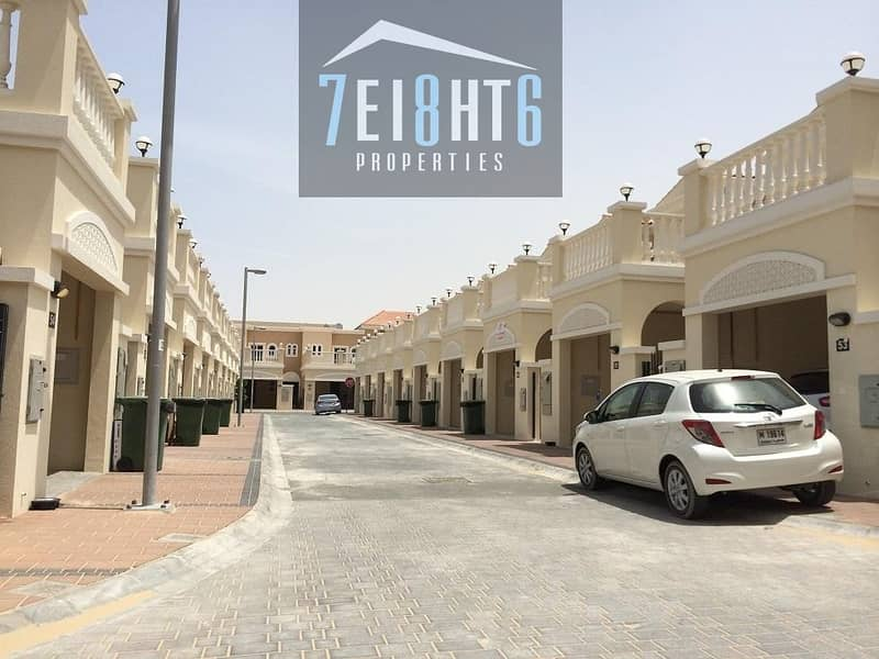 12 Fully furnished: 2 b/r high quality private spacious town house villa + maids room + private landscaped garden