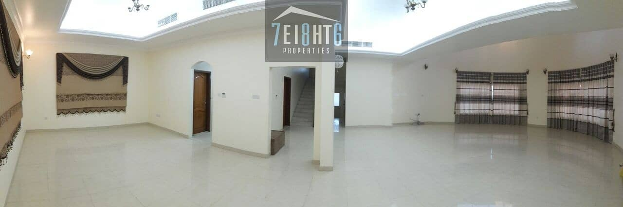 9 Outstanding propertty: 4 b/r good quality independent villa  + maids room + large garden for rent in Warqaa 4